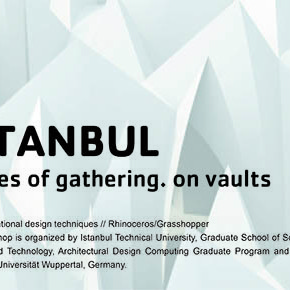 Istanbul places of gathering. on vaults