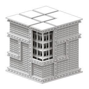 CAD_SS19_Beinecke Library_Render