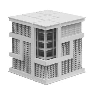 CAD_SS19_Beinecke_Library_Modelfoto